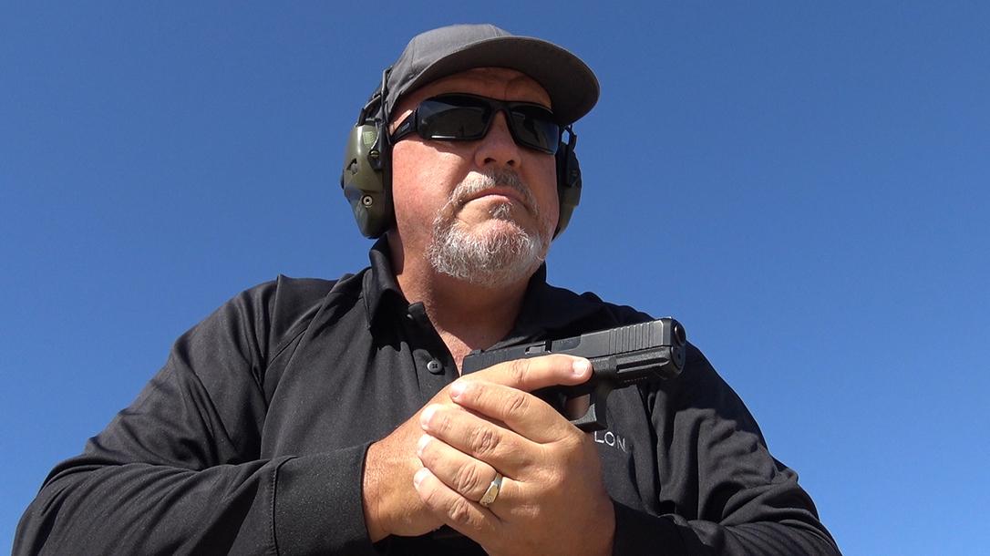 Glock 45 pistol, G45 pistol first review, author