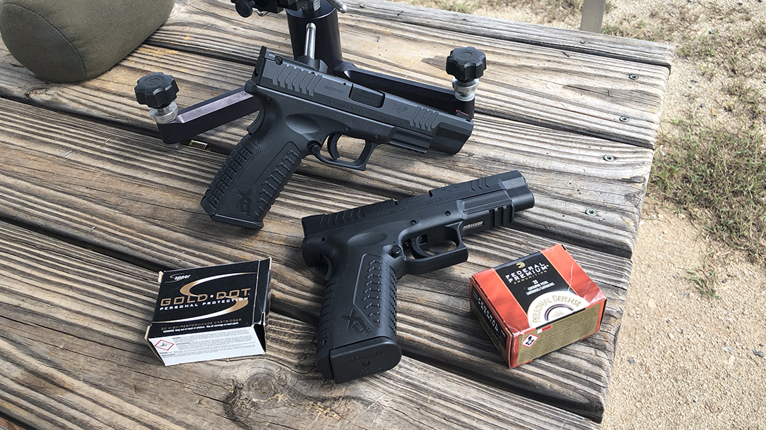 Springfield XDM 10mm Pistol both versions