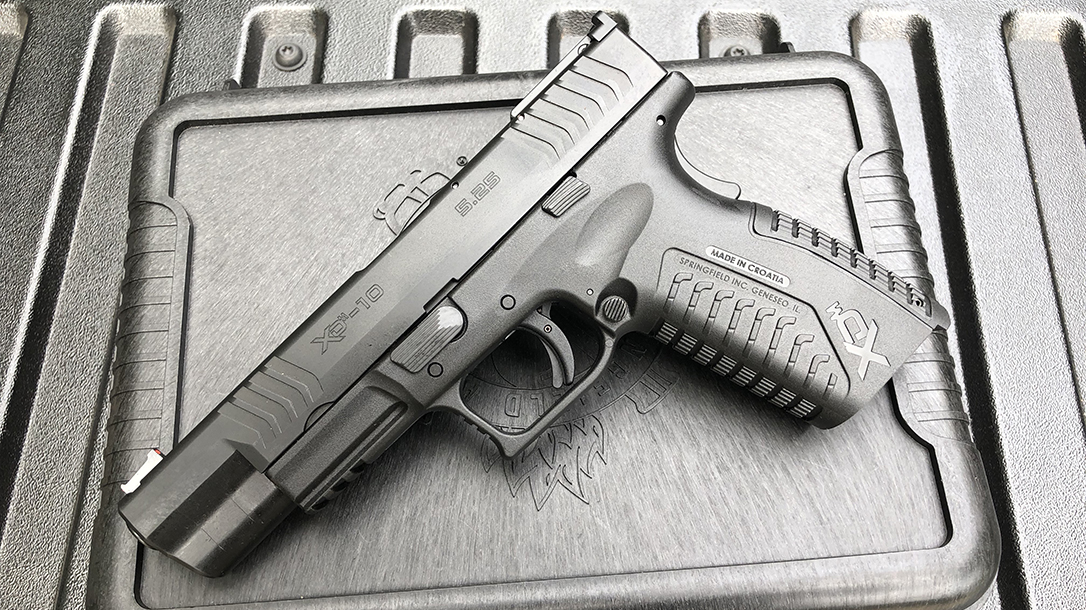 Springfield XDM 10mm Pistol left