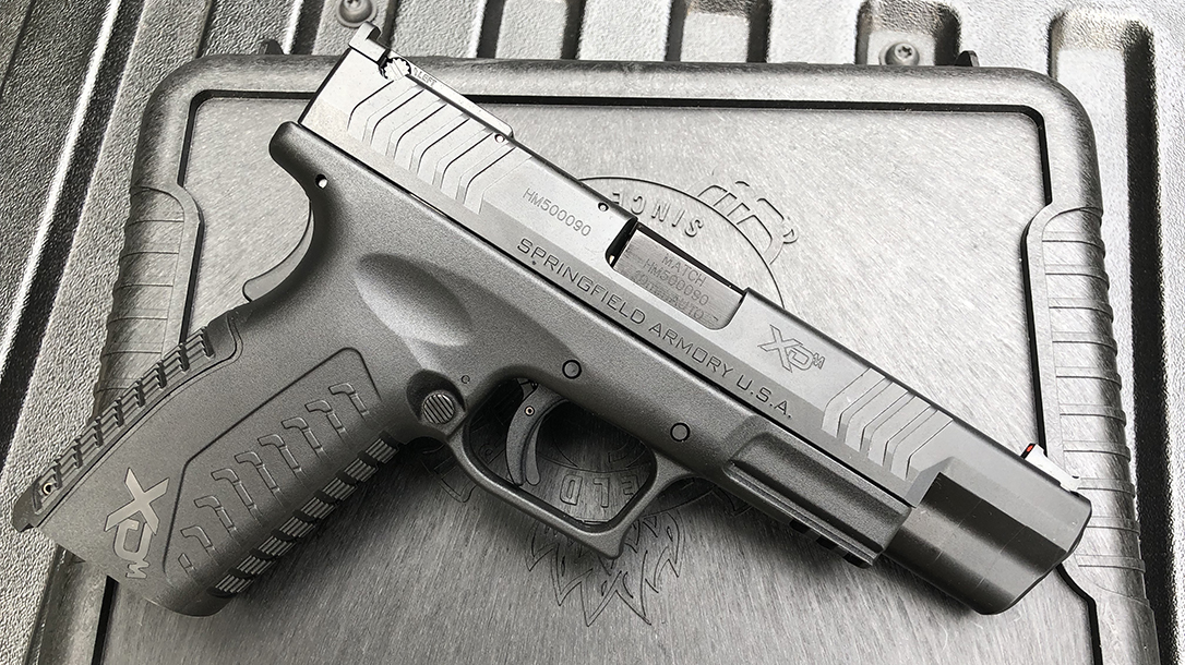 Springfield XDM 10mm Pistol right