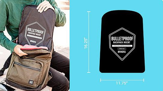 SentryShield Bulletproof Backpack Insert