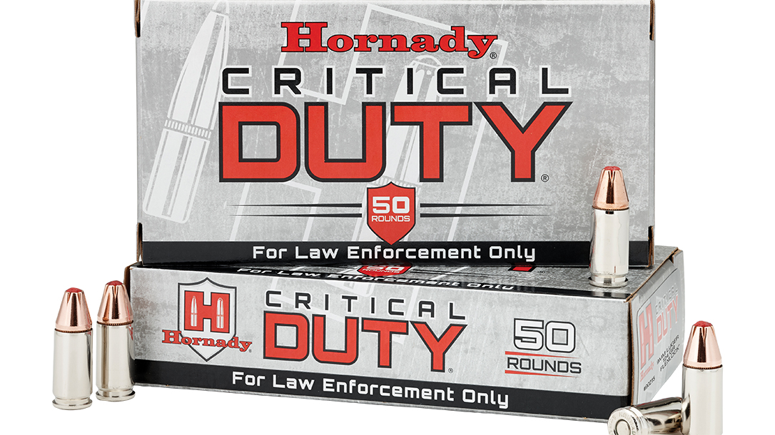 handgun loads, Hornady Critical Duty
