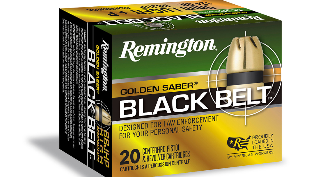 handgun loads, Remington Golden Saber Black Belt