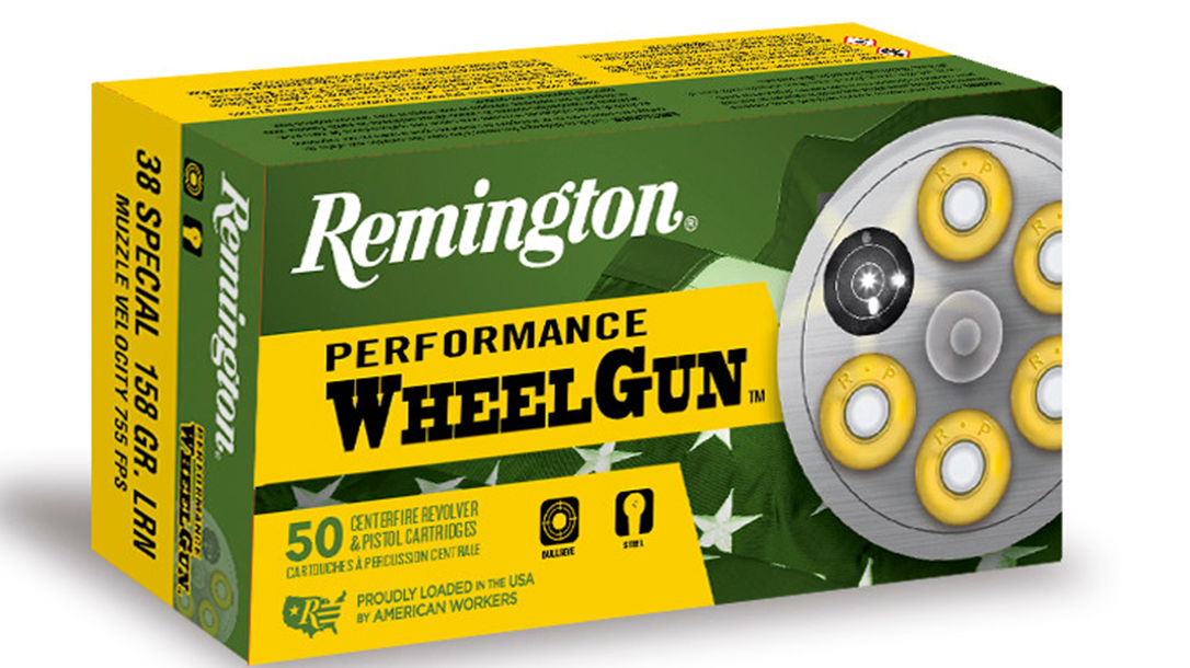 handgun loads, Remington Performance Wheelgun