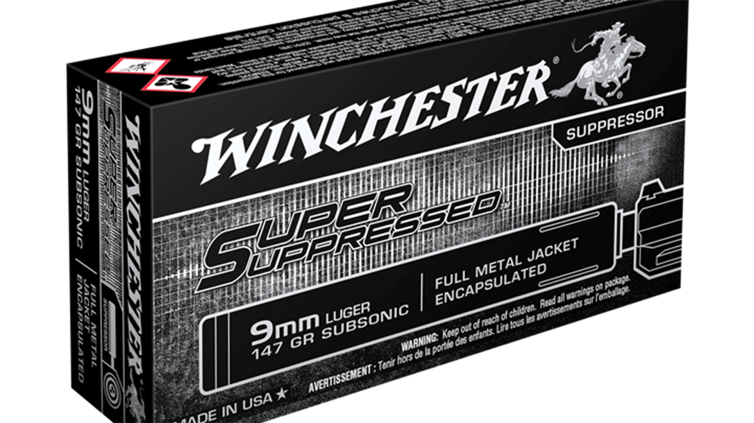 handgun loads, Winchester Super Suppressed