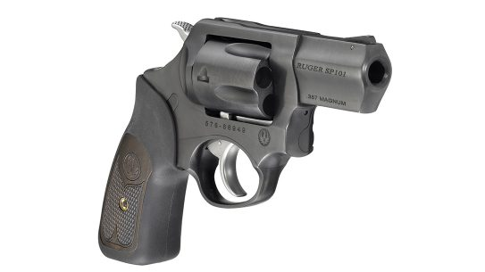 Blued Ruger SP101 Revolver