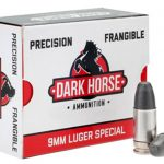 handgun loads, Dark Horse Precision Frangible