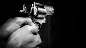 Armed Bouncer Shoots Robber