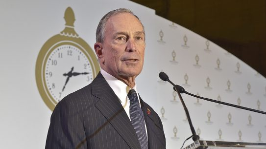 powerful gun lobby, Michael Bloomberg