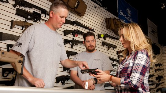 Households Purchasing Firearms during coronavirus pandemic, gun store