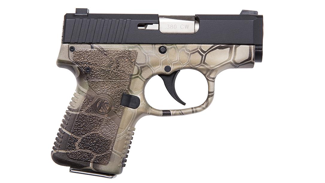 personal protection handguns, Kahr CW380 Kryptek Camo