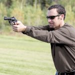 Long-Range Handgun Shots, revolver