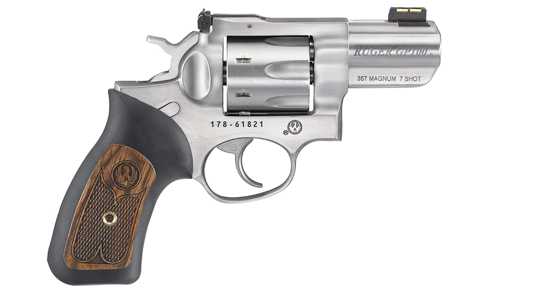 personal protection handguns, Ruger GP100