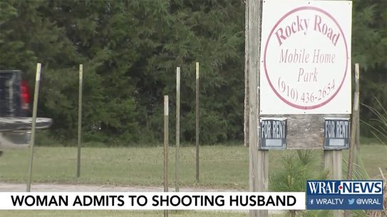 North Carolina Woman Admits to Shooting Husband