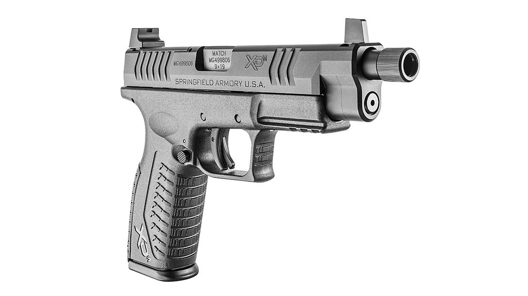 Springfield XDM Optical Sight Pistol, front