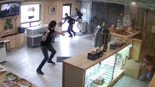 Cannabis Dispensary Robbery, Canadian Cannabis Dispensary
