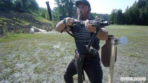 Shooting Range Theatrics, Pat McNamara, Gun training