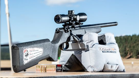 Savage Arms Rascal Target XP Rifle, rimfire, range