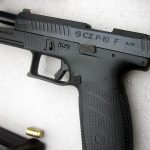 CZ P-10 Pistol, full size slide back