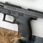 CZ P-10 Pistol, S slide back