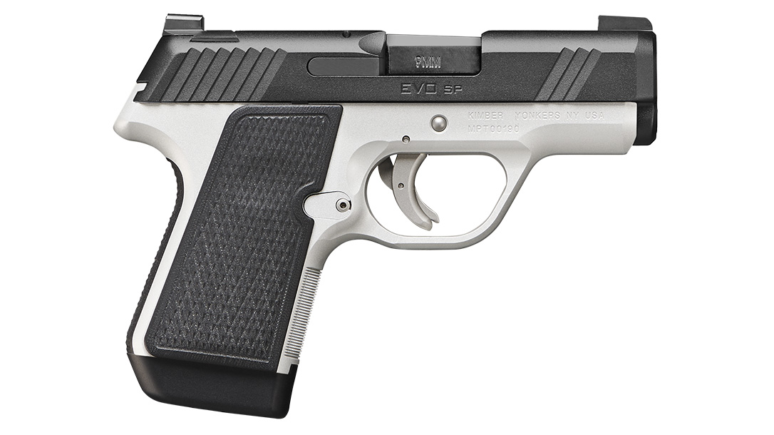 Kimber EVO SP, two tone