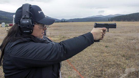 CZ P-10 Pistol, range