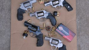Concealable Revolvers, target