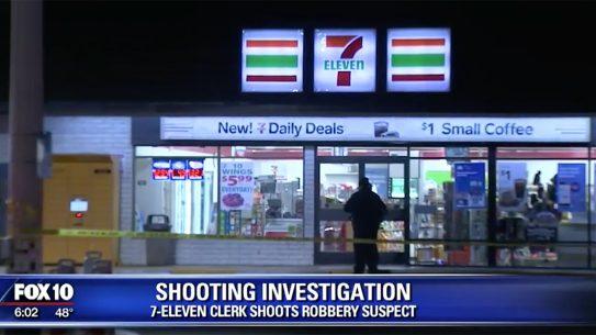 7-Eleven Clerk Shoots Robber