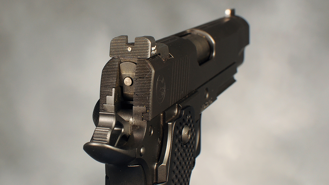 Nighthawk Double Stack, Heinie Ledge rear sight