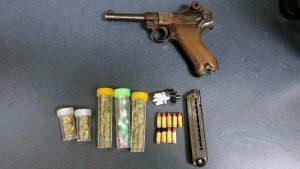 Baltimore Police Find Vintage Luger on Suspect