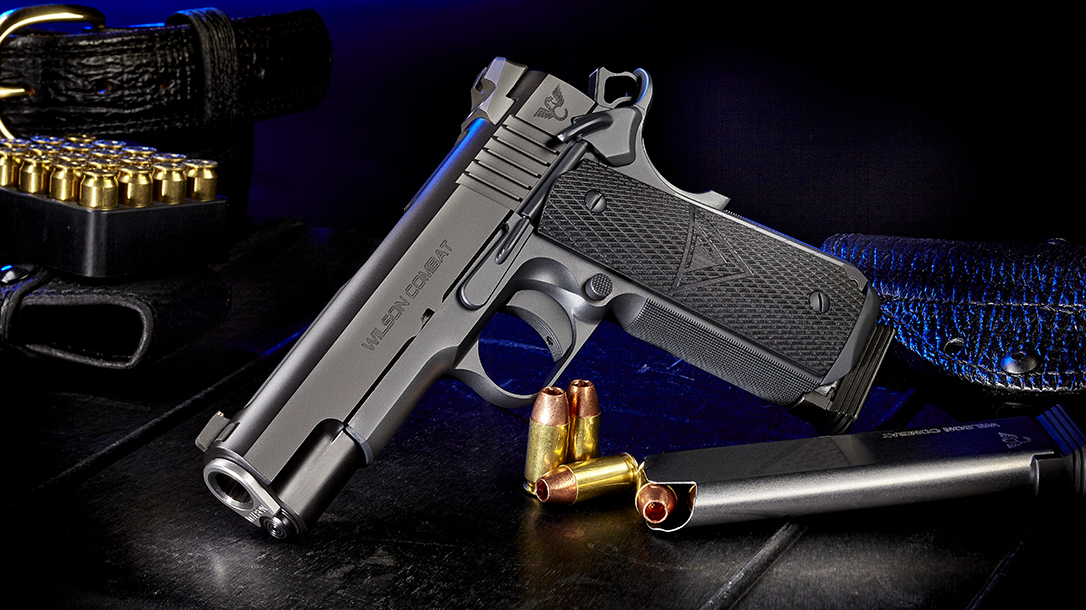 Best Handguns of 2018, Wilson Combat Vickers Elite Commander
