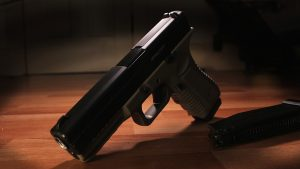 San Diego Homeowner Defeats Rock With Gun