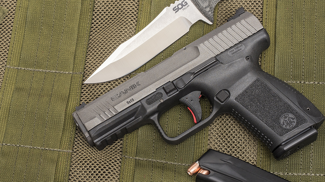 5 Handguns Under $600, Canik TP9SF Elite
