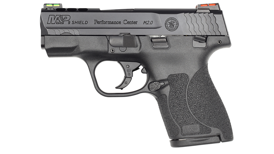 Performance Center Ported M&P9 Shield M2.0 HI VIZ Sights
