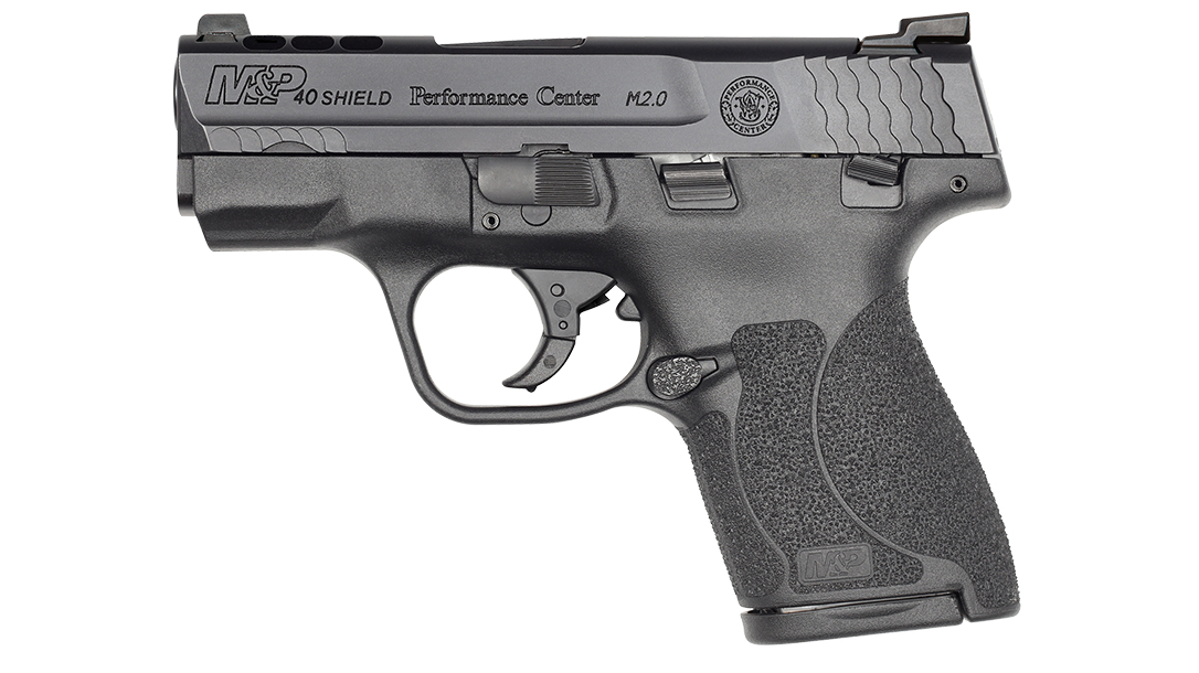 Performance Center Ported M&P40 Shield M2.0 Tritium Night Sights