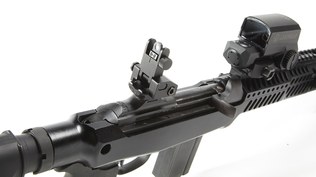 Inland M30-P, rear sights