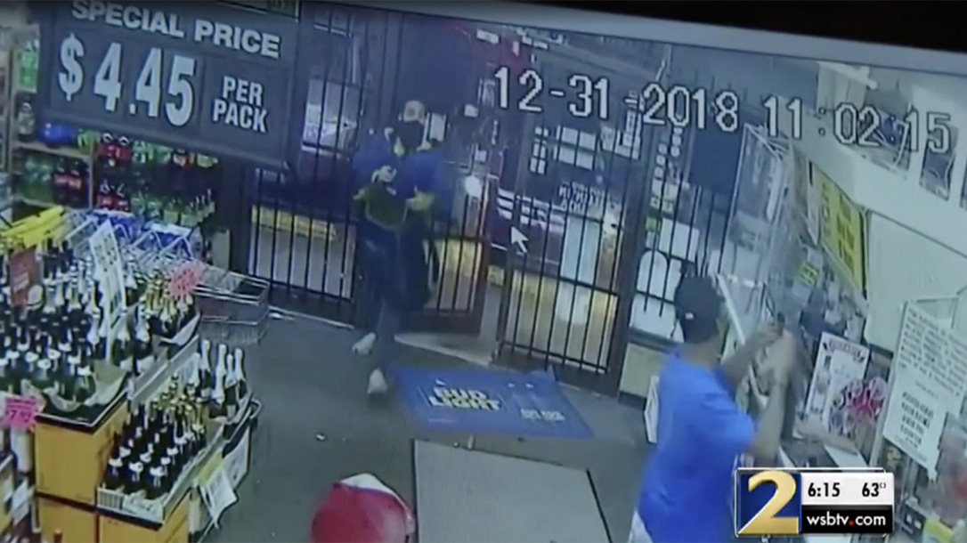 Off-Duty Cop Shoots Robber