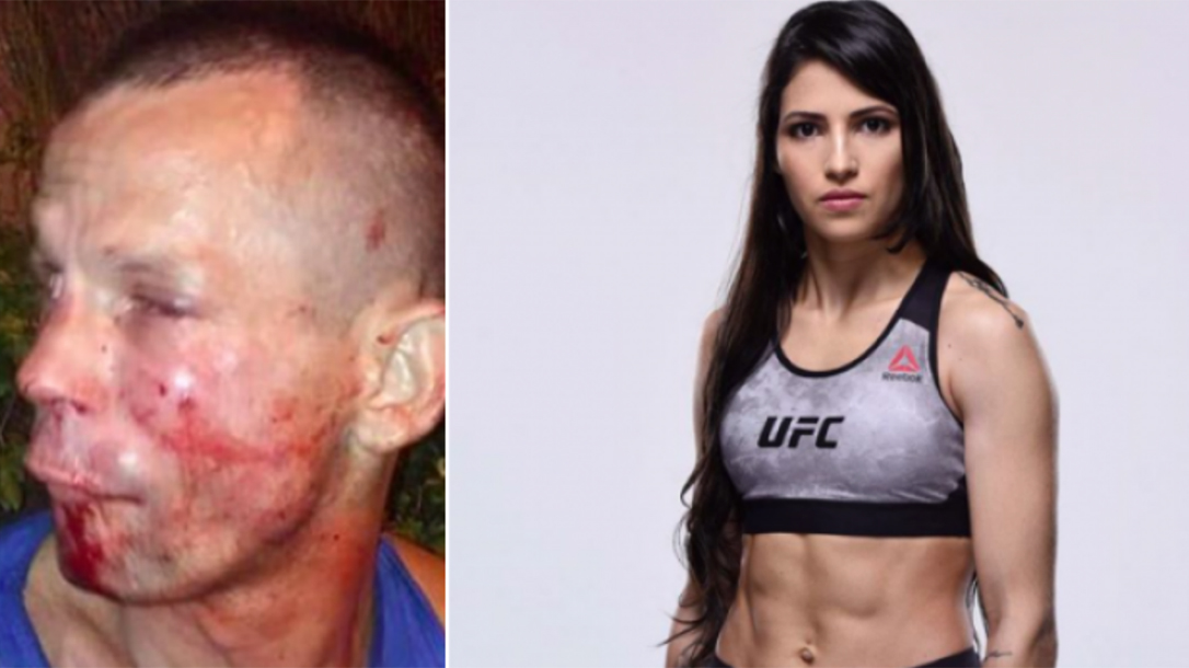 UFC Fighter Polyana Viana Fights Off Mugger