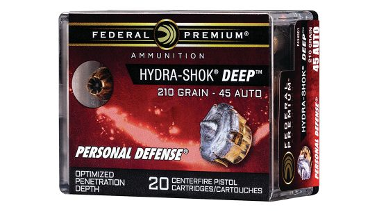 Hydra-Shok Deep Loads in .40 S&W and .45 ACP