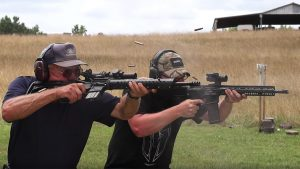 Jerry Miculek Bump Stock Rifle race