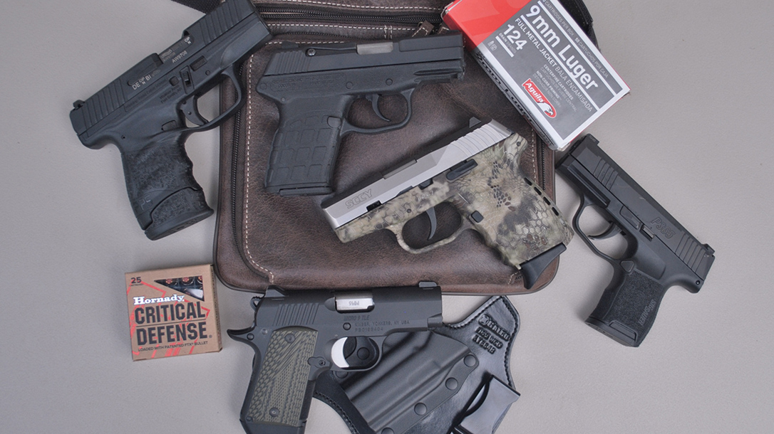 Testing and Ranking 5 Subcompact 9mm Pistols on the Range