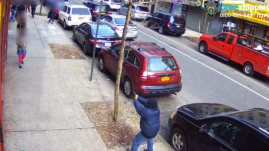 Harlem Teenager Fires Down Busy NYC Street