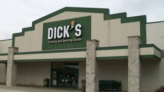 Dick's Sporting Goods Removes Guns