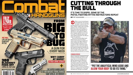Combat Handguns May/June 2019 magazine