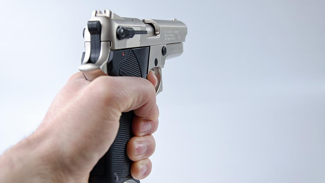Georgia Man Fires Warning Shot