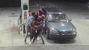 Indiana Spring Breakers, Armed Robbery, gun