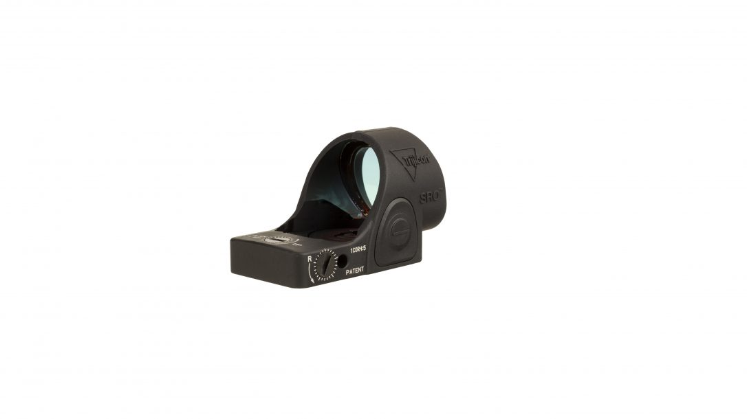 Trijicon SRO red dot optic, rear