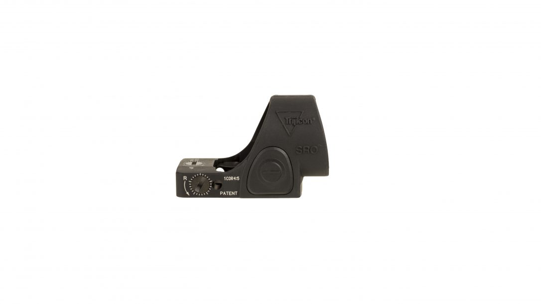 Trijicon SRO red dot optic, right