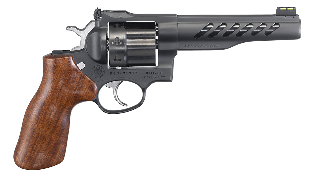 Ruger Super GP100, straight