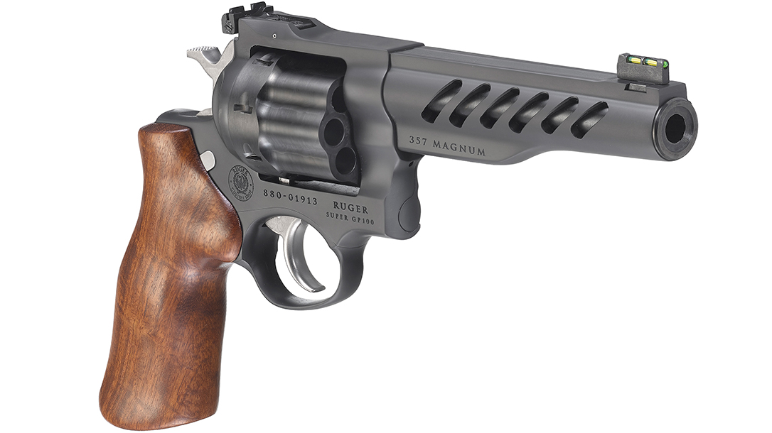 Ruger Super GP100, right